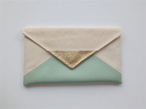 7 Excellent Envelope Clutches by Mint Glitter Envelope Clutch Glitter Bridesmaid Clutch