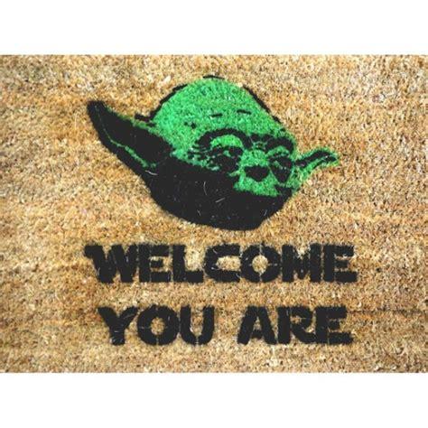 Yoda Door Mat by Wars Yoda Doormat For Gifts