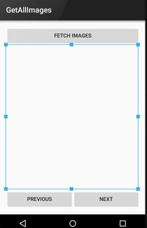 layout in android programming android programming tutorial to get all images from server
