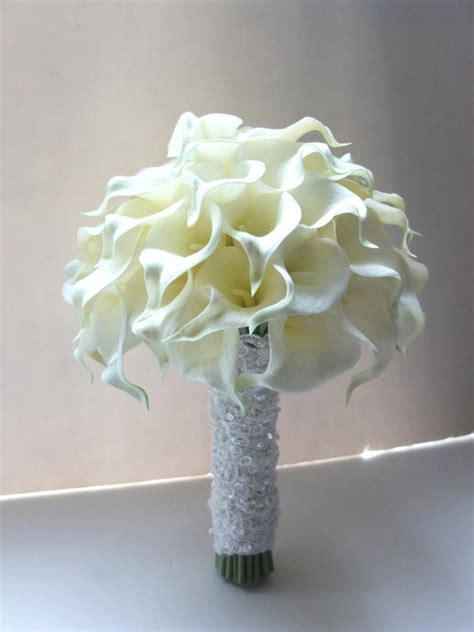 Bunga Mawar Real Touch Kuncup Pink ivory calla bouquet bridal bouquet wedding bouquet