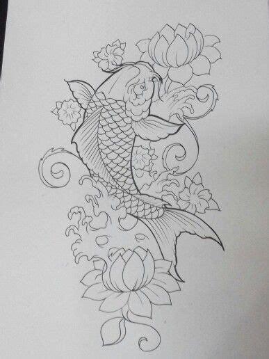 tato koi jepang 25 ide terbaik tato ikan koi di pinterest tato jepang