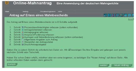 Online Mahnantrag Drucken by Aktuelle Gesetzgebung Barcode Mahnbescheidsantrag Das