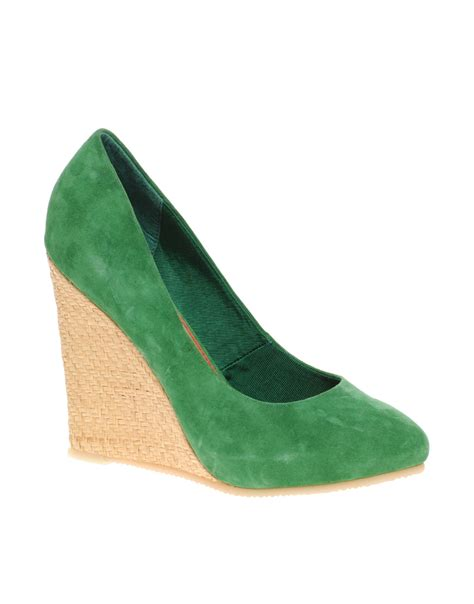shoe wedges for bright smile suede raffia wedge shoe