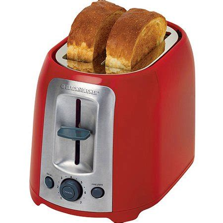 toasters at walmart black decker 2 slice toaster walmart