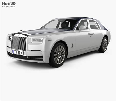 roll royce car 2018 rolls royce phantom 2018 3d model hum3d