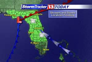 Weather Map Orlando by Orlando Weather Forecast Strong To Severe Storms Friday