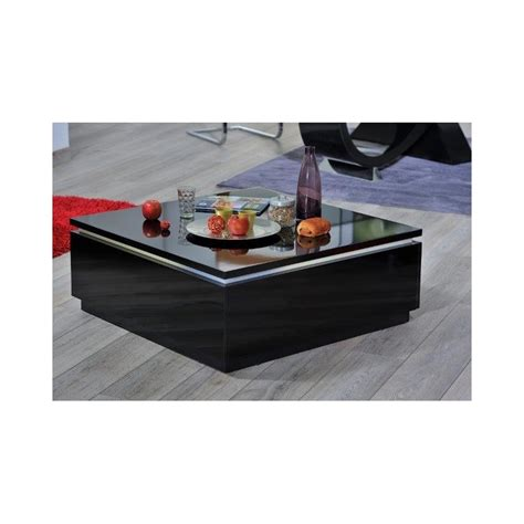 coffee table with led lights orde black high gloss coffee table with led lights