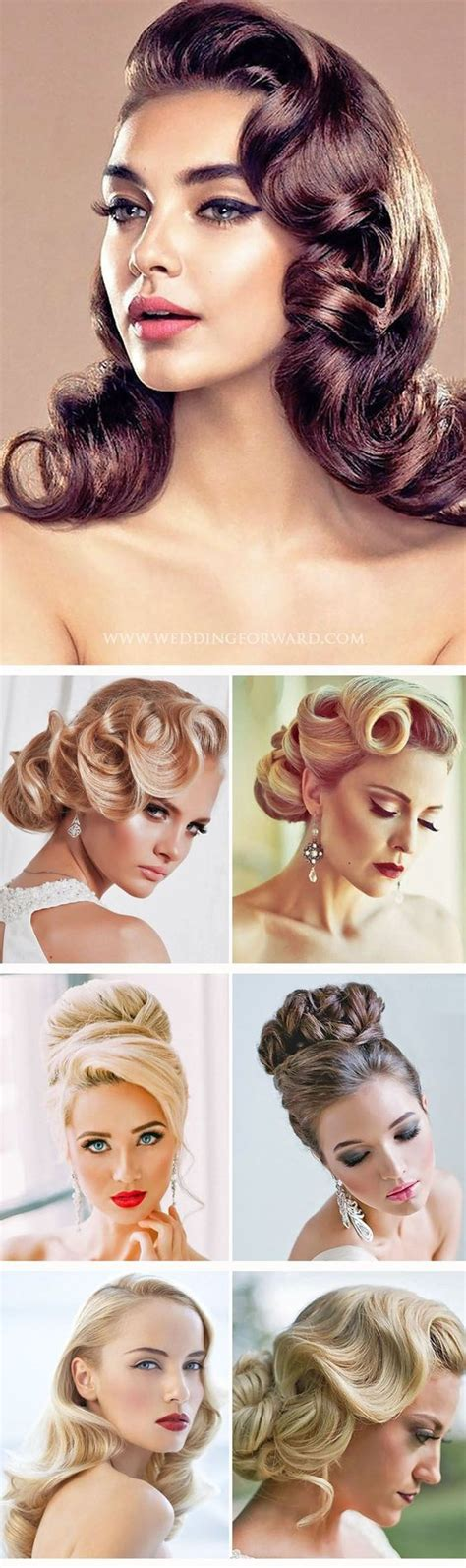Vintage Wedding Hairstyles Tutorial by 27 Utterly Gorgeous Vintage Wedding Hairstyles Style And