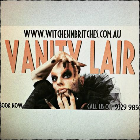 vanity lair witches in britches theatre restaurant