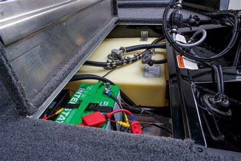 boat battery charger bass pro tracker rod locker nitro tracker owners