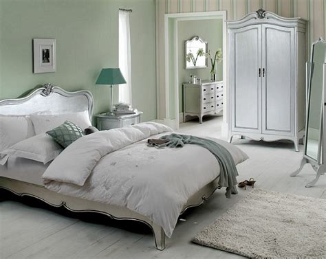 silver bedroom furniture the glam pad glamorous white bedrooms interior