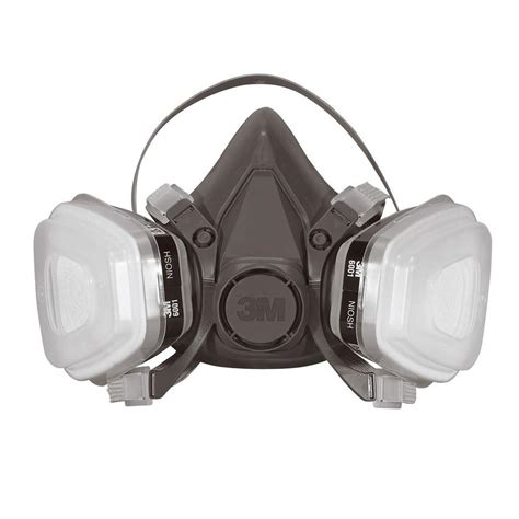 3m large paint project respirator mask of 4 6311pa1