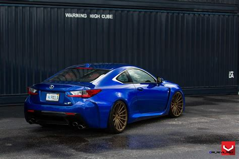 bronze lexus 2015 lexus rc f on vossen vfs2 satin bronze alloys