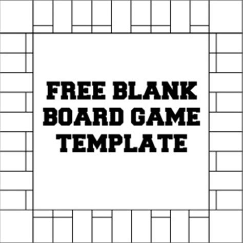Free Printable Blank Board Games Templates Printable 360 Degree In Out Board Template