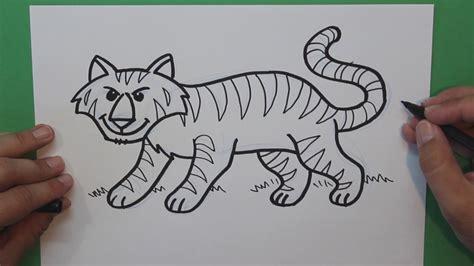 imagenes de jaguares para dibujar c 243 mo dibujar un tigre how to draw a tiger dibujos