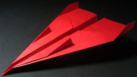 How To Make Different Types Of Paper Airplanes - how to make a paper airplane that flies 10 000