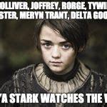 Stark Meme Generator - arya stark memes image memes at relatably com