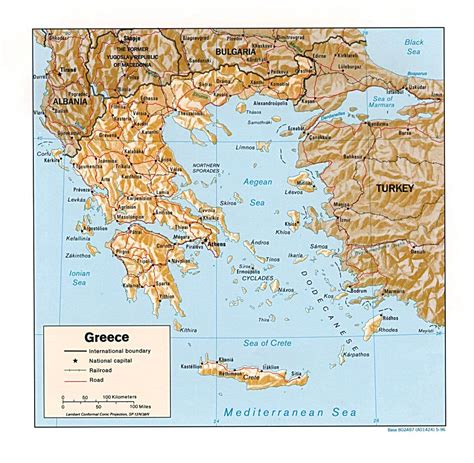relief map relief map of greece greece relief map vidiani maps of all countries in one place