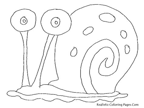 coloring pages spongebob gary spongebob and gary coloring page pinterest spongebob