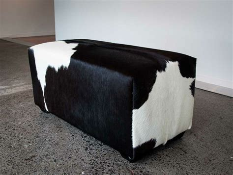 cowhide ottoman nz 1000 images about cowhide ottomans furniture on