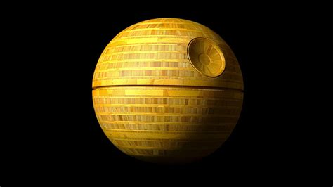 Lancaster Cabinets In Honor Of Star Wars Day Woodworker Builds Bamboo Death