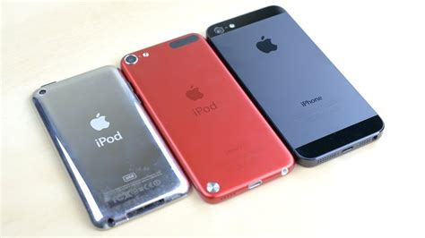 iphone generations ipod touch 5th generation vs iphone 5 vs ipod touch 4g