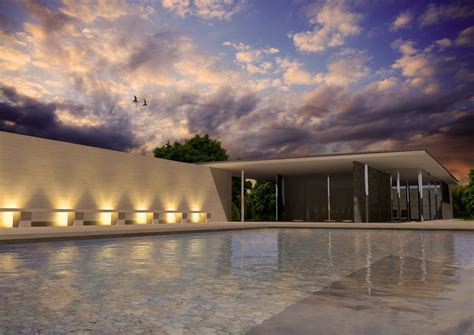 pavillon barcelona barcelona pavilion 3d model free 3d model max cgtrader