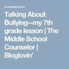 bullying activities bullying and middle school on