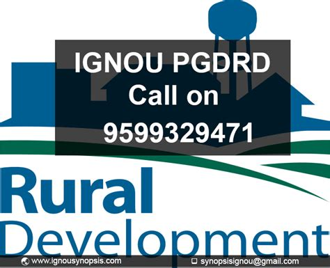 Ignou Mba Synopsis by Ignou Pgdrd Project Ignou Synopsis