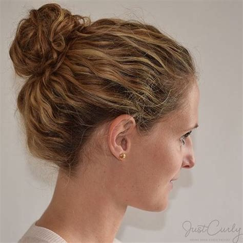 hairstyles for thick wavy hair updo 50 most magnetizing hairstyles for thick wavy hair bun