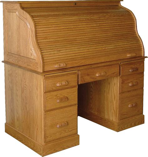 Roll Top Desk by Amish Computer Roll Top Desk