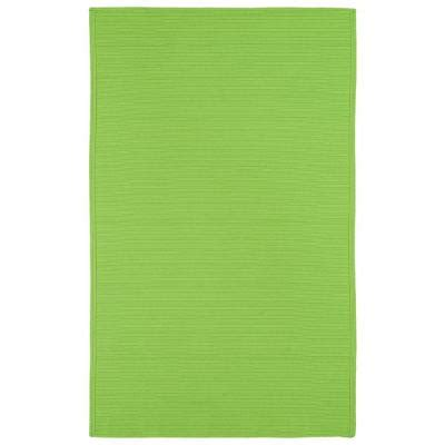 Lime Green Outdoor Rug Kaleen Lime Green 3 Ft X 5 Ft Indoor Outdoor Area
