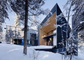 Master On Main House Plans rocky mountain weekend home with modern scandinavian flare