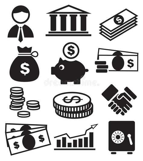 banco de imagenes royalty free banking icons royalty free stock photo image 24805525