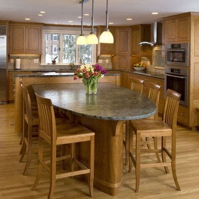 kitchen islands  attached tables images  pinterest