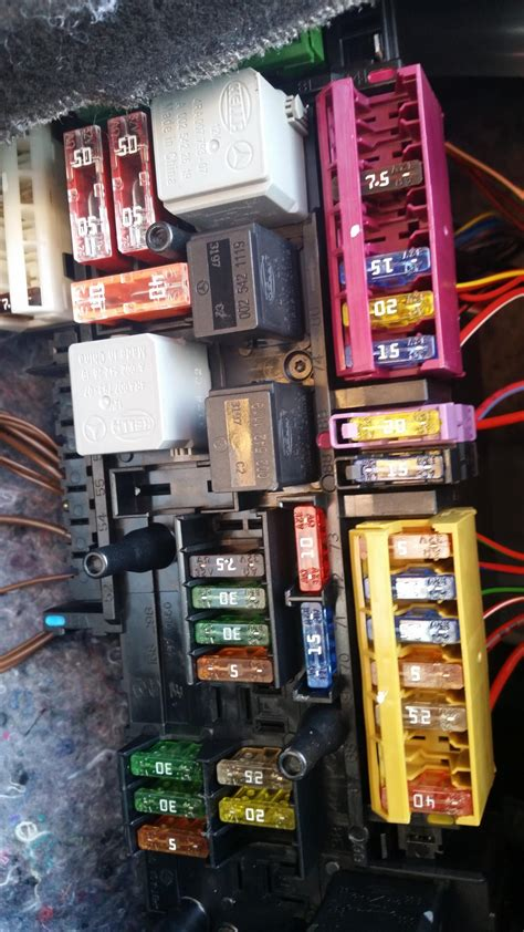 mercedes s430 fuse box diagram free wiring