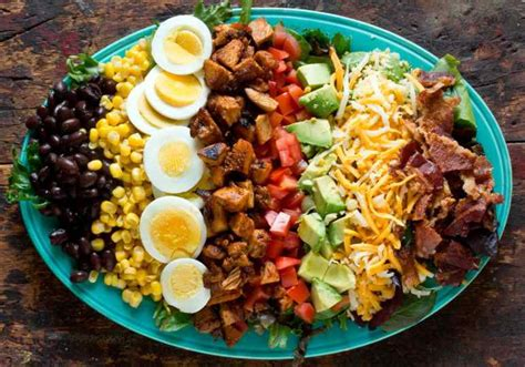 big salads 31 easy recipes for your healthy month books cobb salad recipe martha stewart
