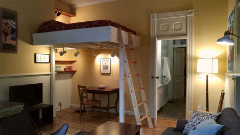 loft beds for studio apartments short north quot pied a terre quot osu short north cozy loft