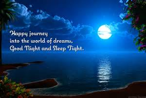 Happy journey into the world of dreams