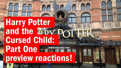 Ori Harry Potter And The Cursed Child Part One And Two Playscript harry potter and the cursed child part one preview reactions look time out