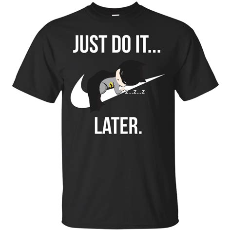 Tshirt Nirvana In Utero Diskon just do it later batman t shirt hoodies tank top
