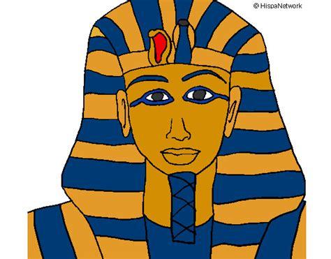 imagenes de esfinges egipcias para dibujar dibujo de faraon pintado por armstrong en dibujos net el