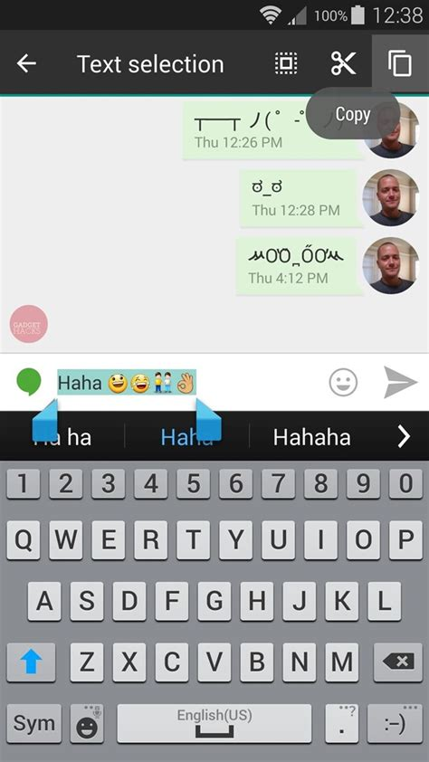 how to see iphone emoji on android see what your android emojis look like on iphones before sending them 171 samsung galaxy s5