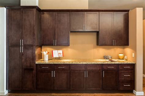 espresso shaker kitchen cabinets shaker espresso kitchen cabinets shaker style cabinets