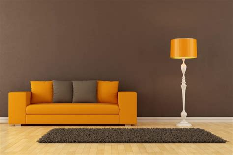 color couch   brown carpet home decor bliss