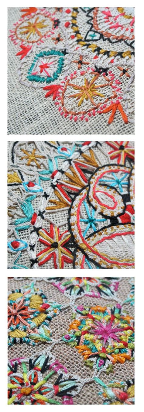 From Traditional To Modern Take Modern Take On Traditional Embroidery With Colours