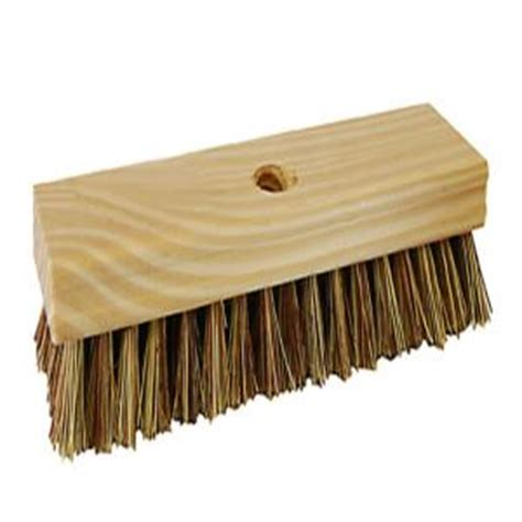professional wood block deck scrub brush 223tcnrm