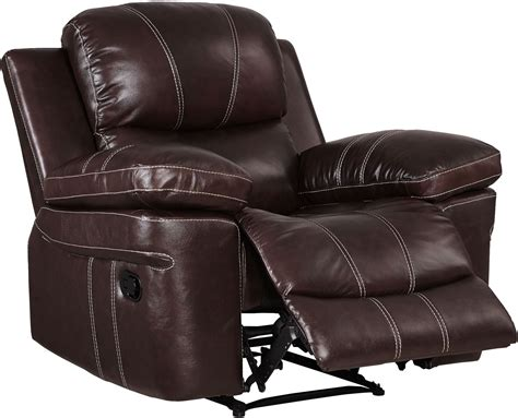 power glider recliner legato dark brown power glider recliner from new classic