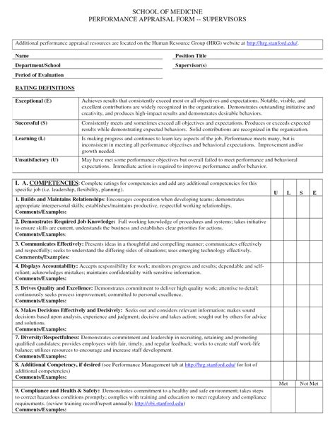 evaluation report template employee performance evaluation report sle and performance appraisal format sle planning