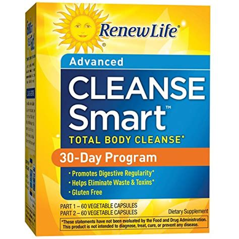 Detox Smart Cleanse Dietary Supplement Reviews by Renew Cleanse Smart Total Cleanse Eliminate